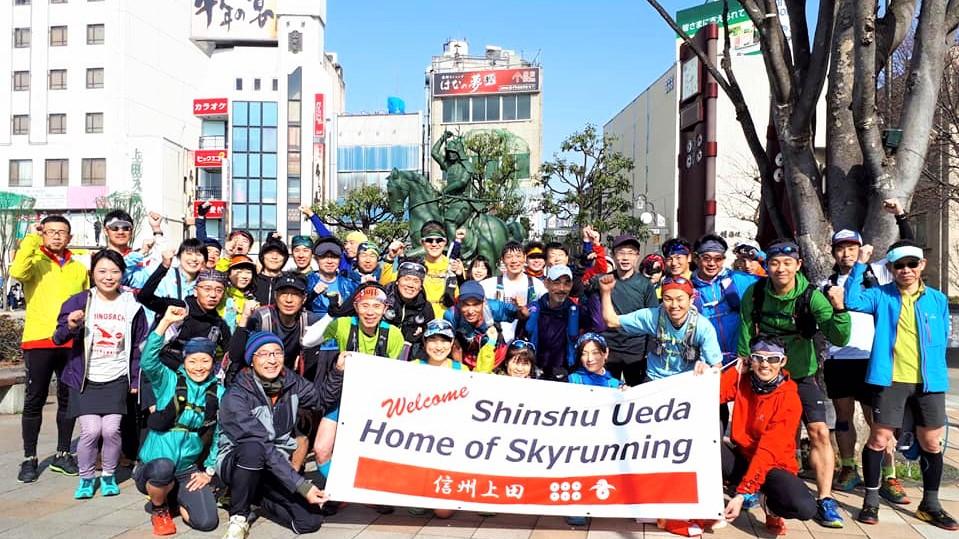 信州上田は5月3-4日に「上田バーティカルレース」が開催されるため、再びスカイランナーで賑わう予定だ