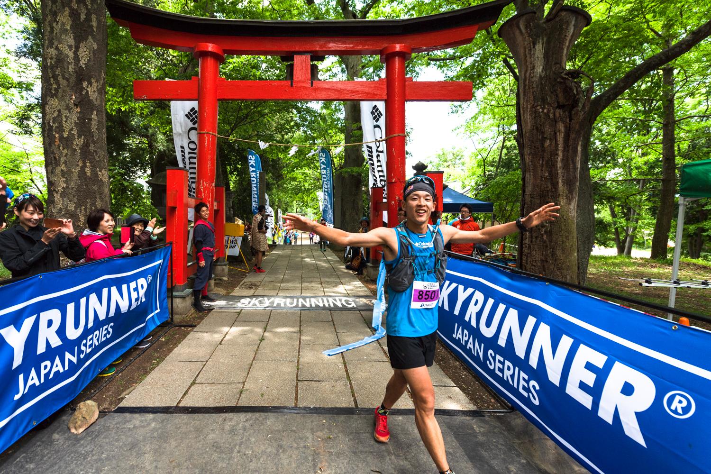 勝者としての貫禄がついてきた ©UEDA VERTICAL RACE/NAGI MUROFUSHI