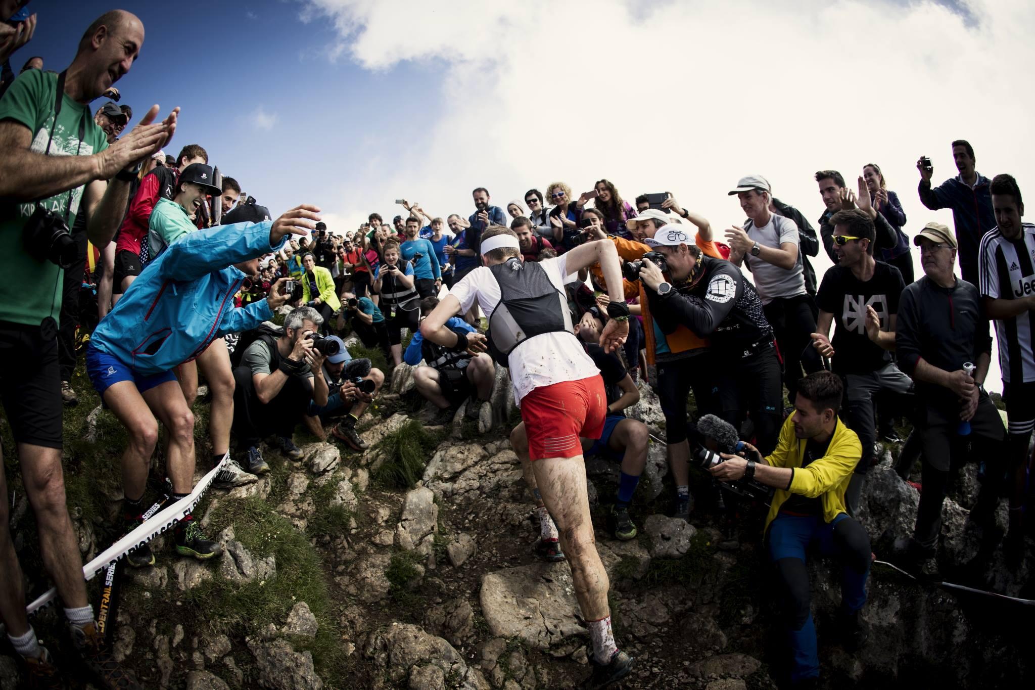 耳が痛くなるほどの熱狂 ©Columbia Montrail / Sho Fujimaki