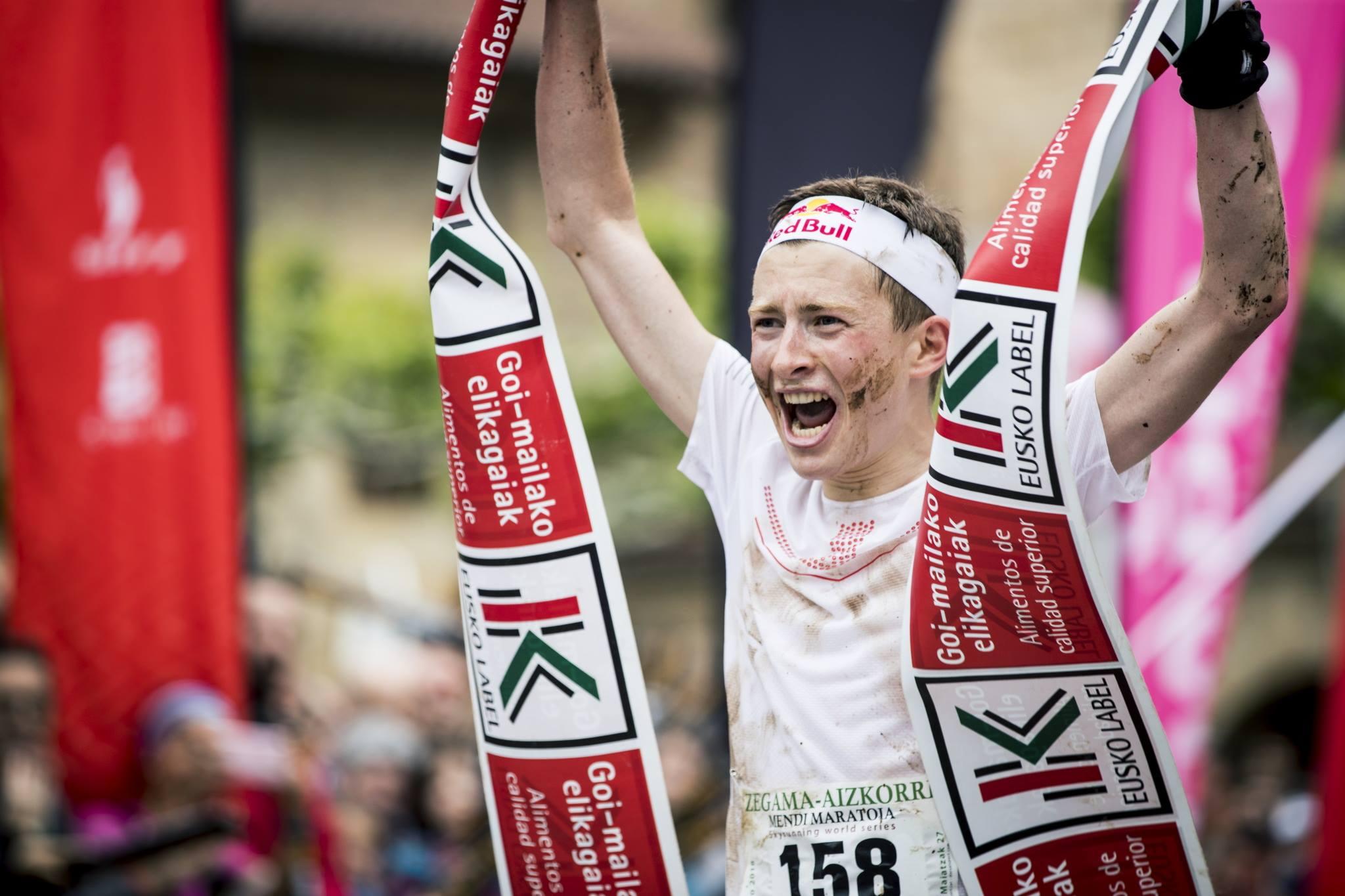 優勝したスイスのレミ・ボネ。上田より2歳年下の23歳だ ©コロンビアスポーツウェアジャパン / Sho Fujimaki