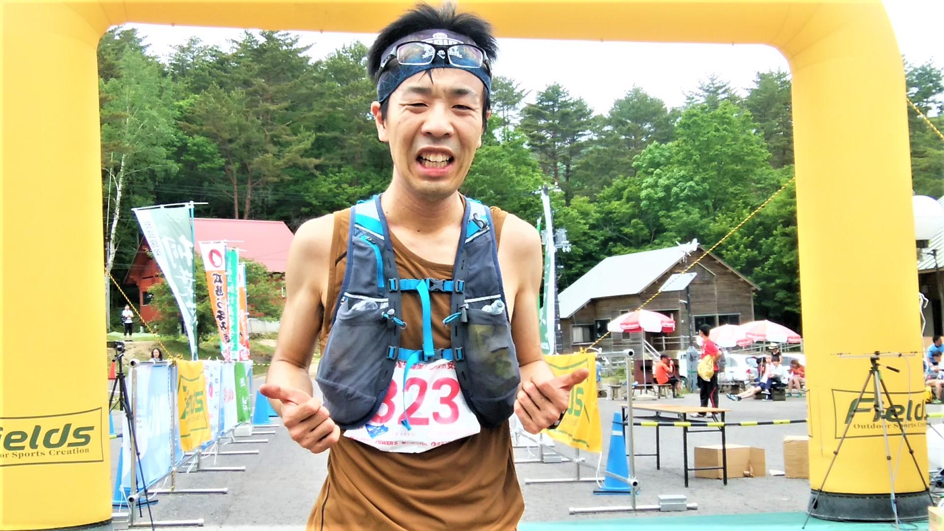 僅差の3位に入った町田。力を出し切った!