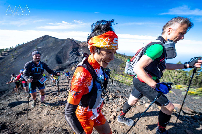吉住も翌日のスカイレースに参加して総合8位となった ©Nagi Murofushi