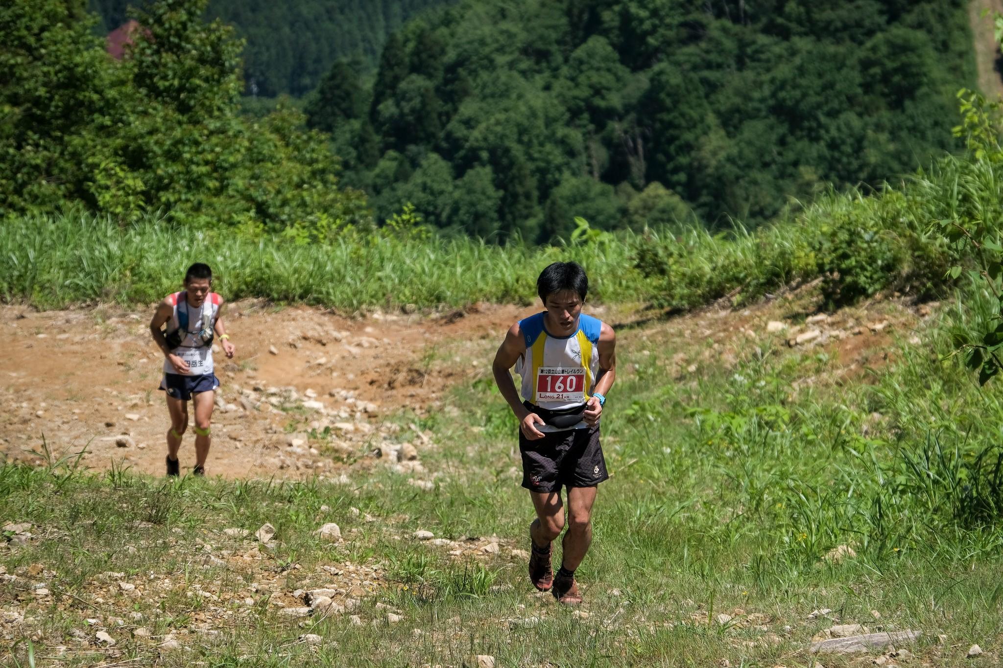 地域選手権3位、4位で競る遠藤と吉田