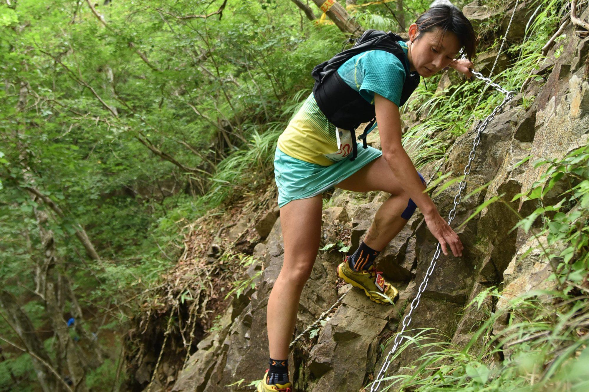 山岳に恵まれた山梨県勢の強さを見せた、福田 ©北丹沢12時間山岳耐久レース