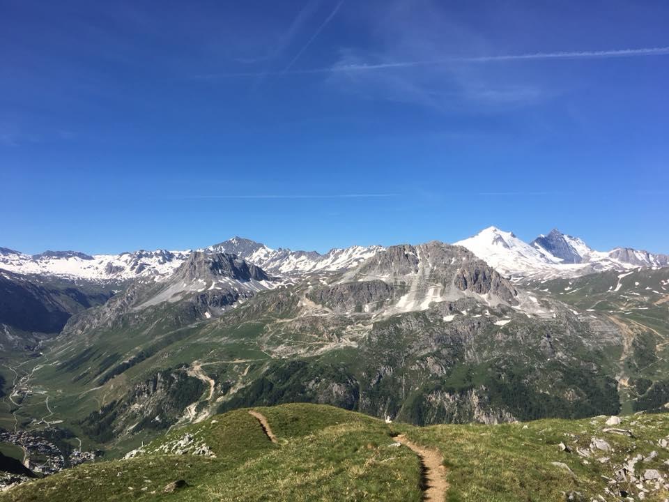 世界のスカイランニングはどれも美しい山岳が舞台で開催されている