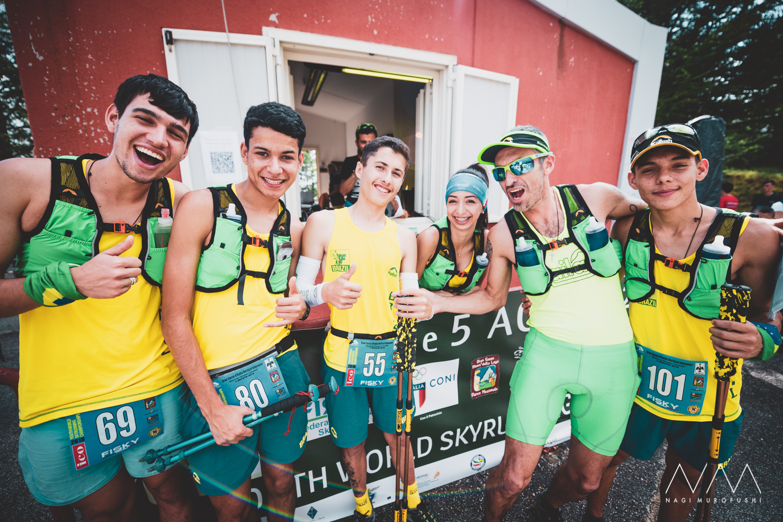 初出場のブラジルチーム。今年は一気に参加国が拡大した ©Nagi Murofushi