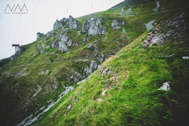 コースは3.5kmで+1000mを上昇する ©Nagi Murofushi