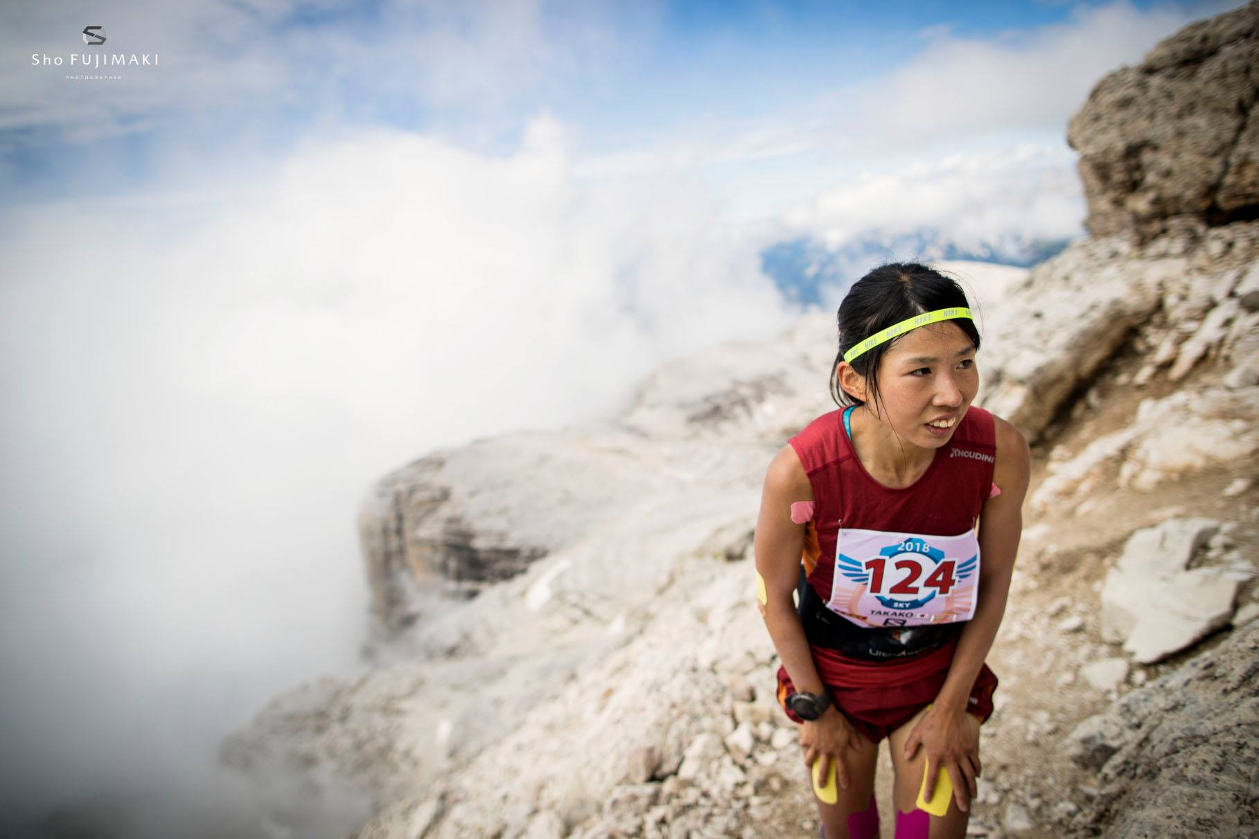 先週末のドロミテスカイレースでは全く実力を出せなかった ©Sho Fujimaki