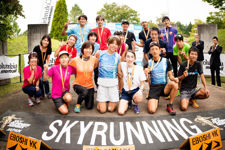 男女トップ10!!チャンピオンに挟まれて10位に入った中学生のルブラス ©Eboshi VK