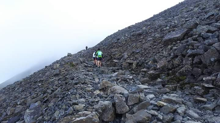 レースの舞台となるのはスコットランドの急峻でテクニカルな山岳 ©Sho Fujimaki