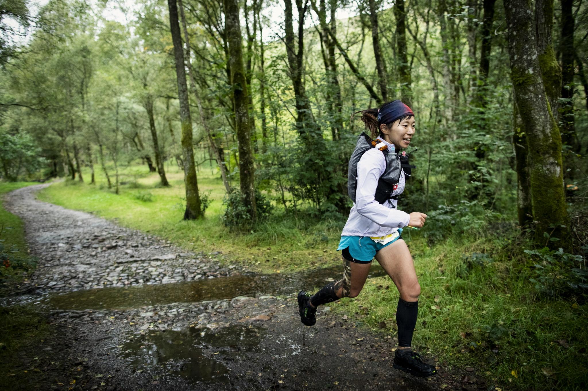得意な山岳区間が大幅にカットされたが、チームのために全力を出して走り続けた星野 ©Sho Fujimaki