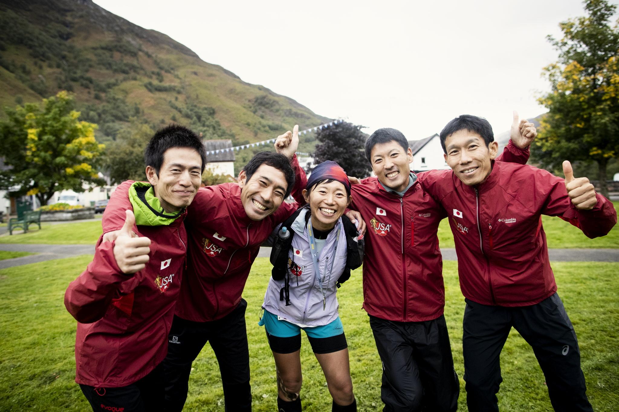 チームに良い流れをつくってくれたウルトラ組 ©Sho Fujimaki