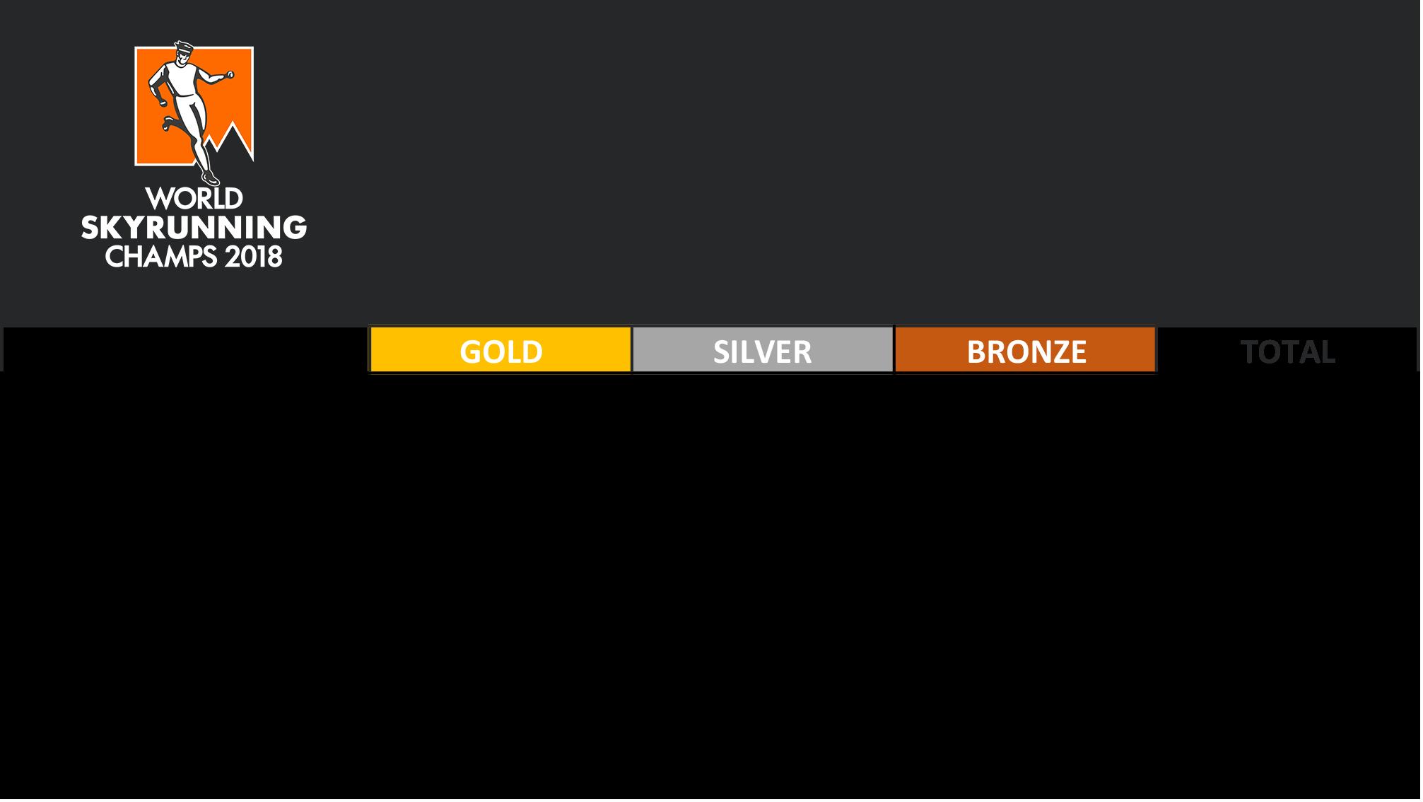 国別獲得メダル表