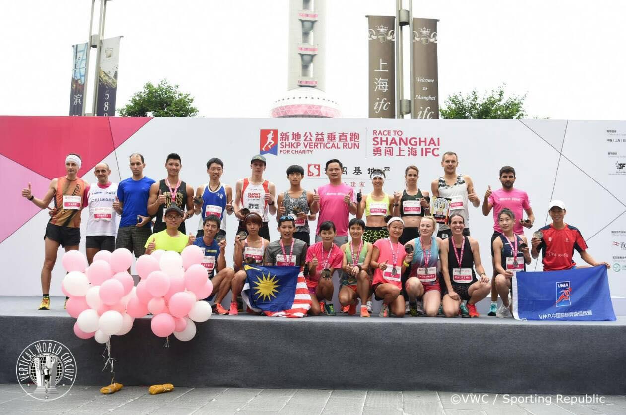 バーティカルラン二ングはアジアが本場のスポーツに成長している!! ©Sporting Republic