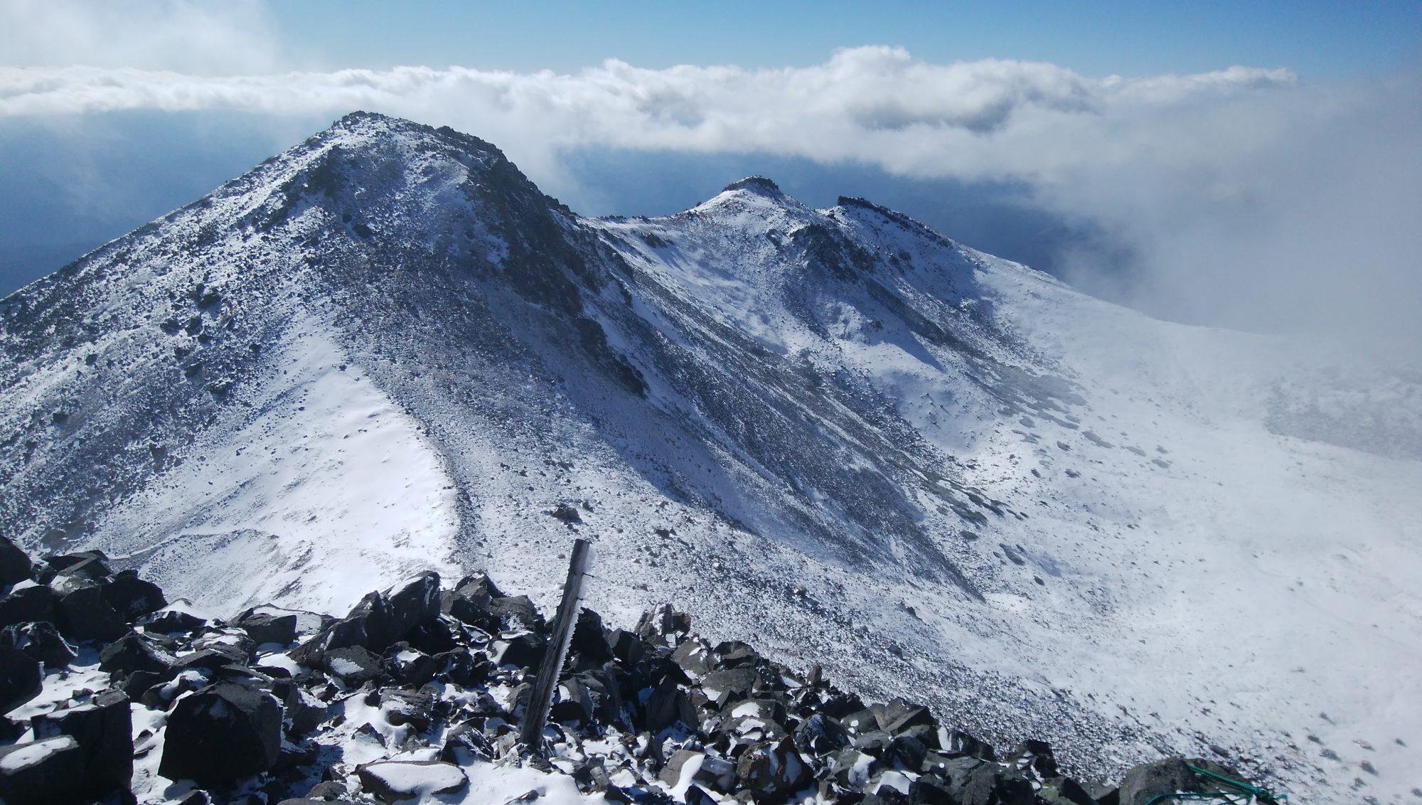 山が好きなら白銀の山へも登ってほしいものだが、グリーンシーズンとは別物だ