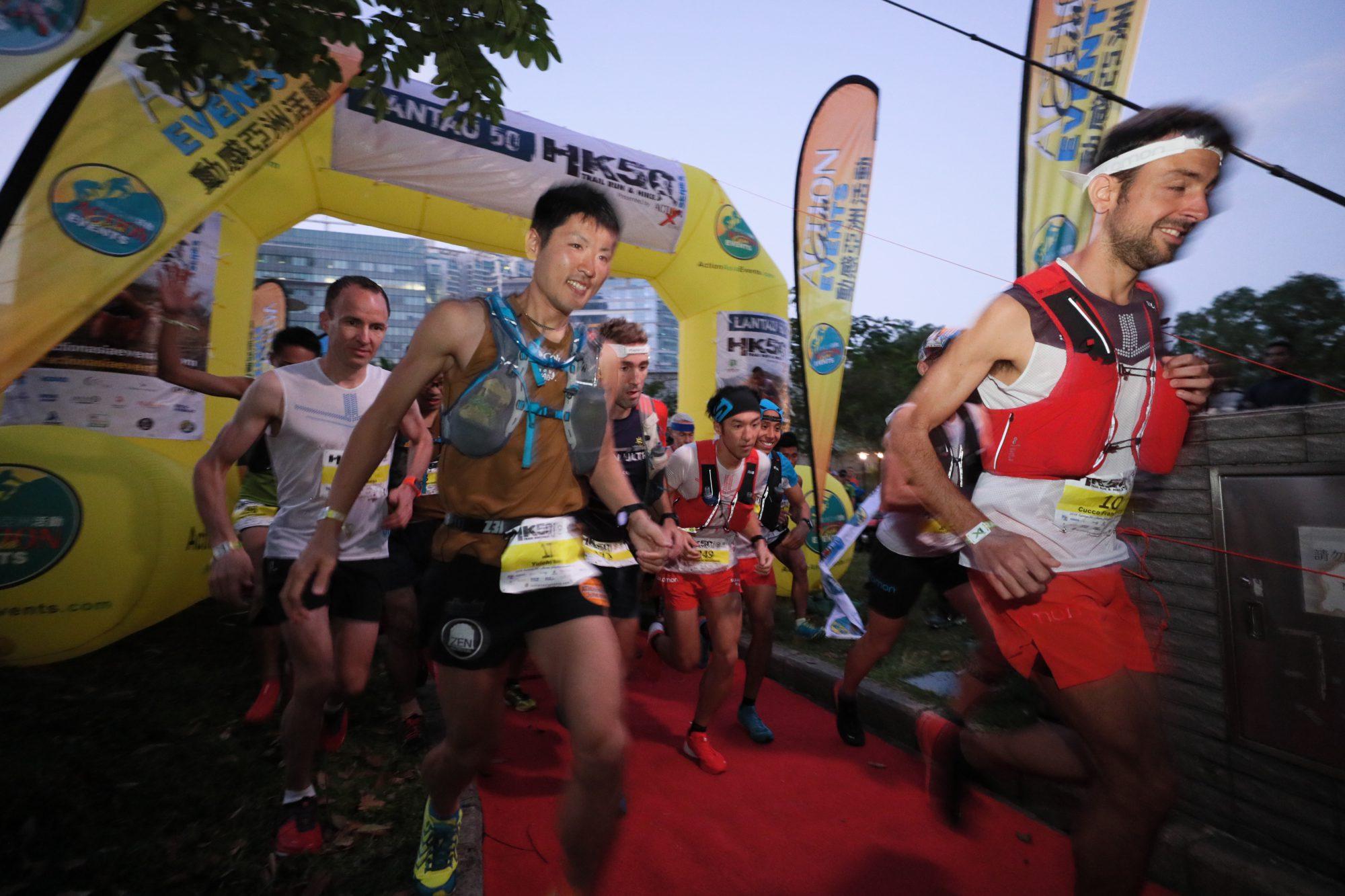 国際都市香港で開催されるため、選手の国籍も国際色豊かである ©Action Asia Events