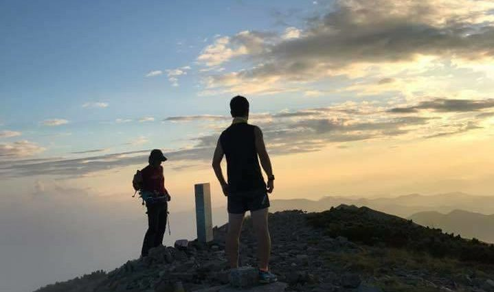 北海道初の公式戦の舞台となる天塩岳の山頂 ©天塩岳速登競争