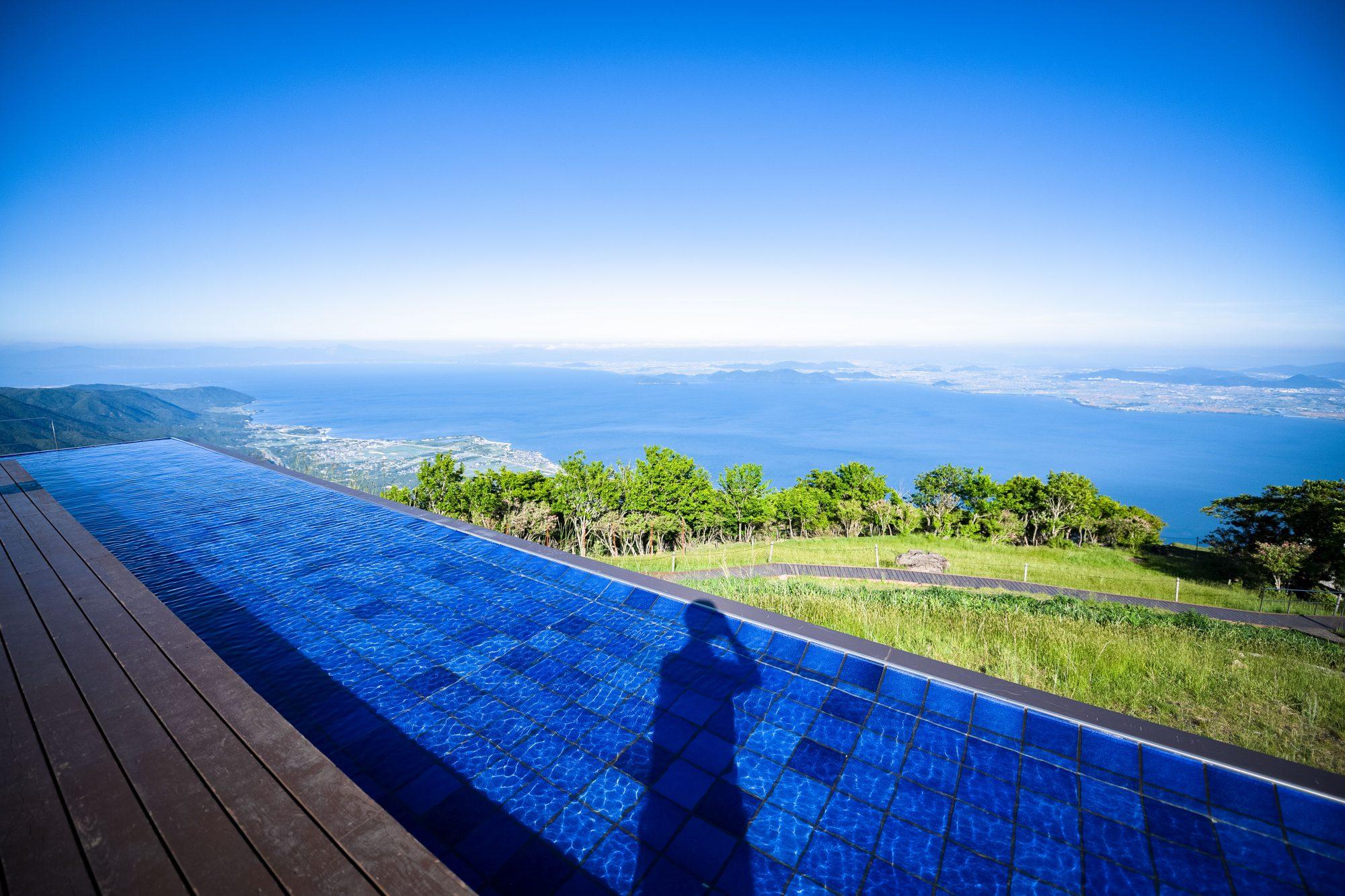 会場となるびわ湖バレイの「びわ湖テラス」は関西では有名な景観スポット!!