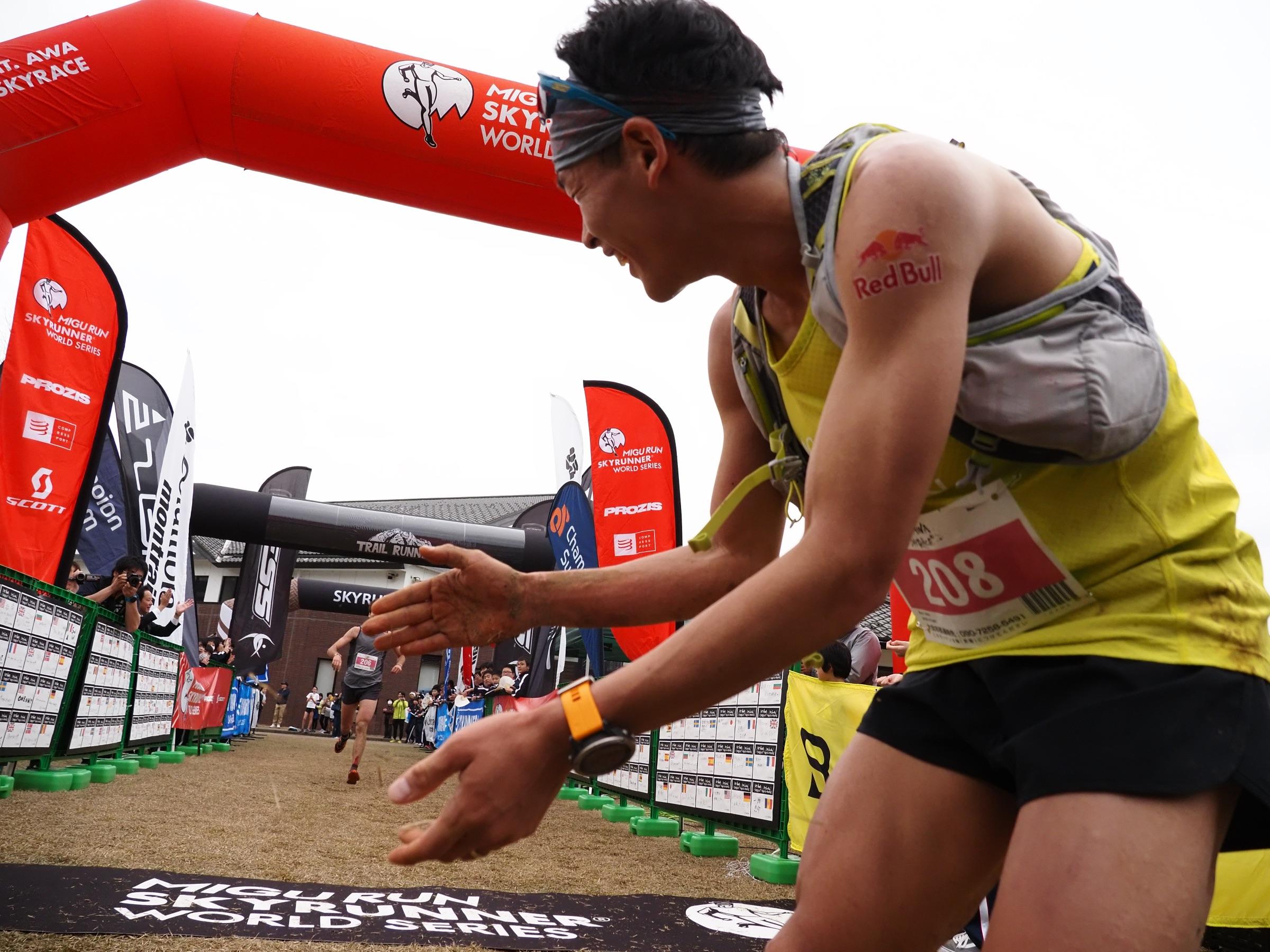 2位のオリオル・カルドナとは9秒差だった ©Chiba Masataka
