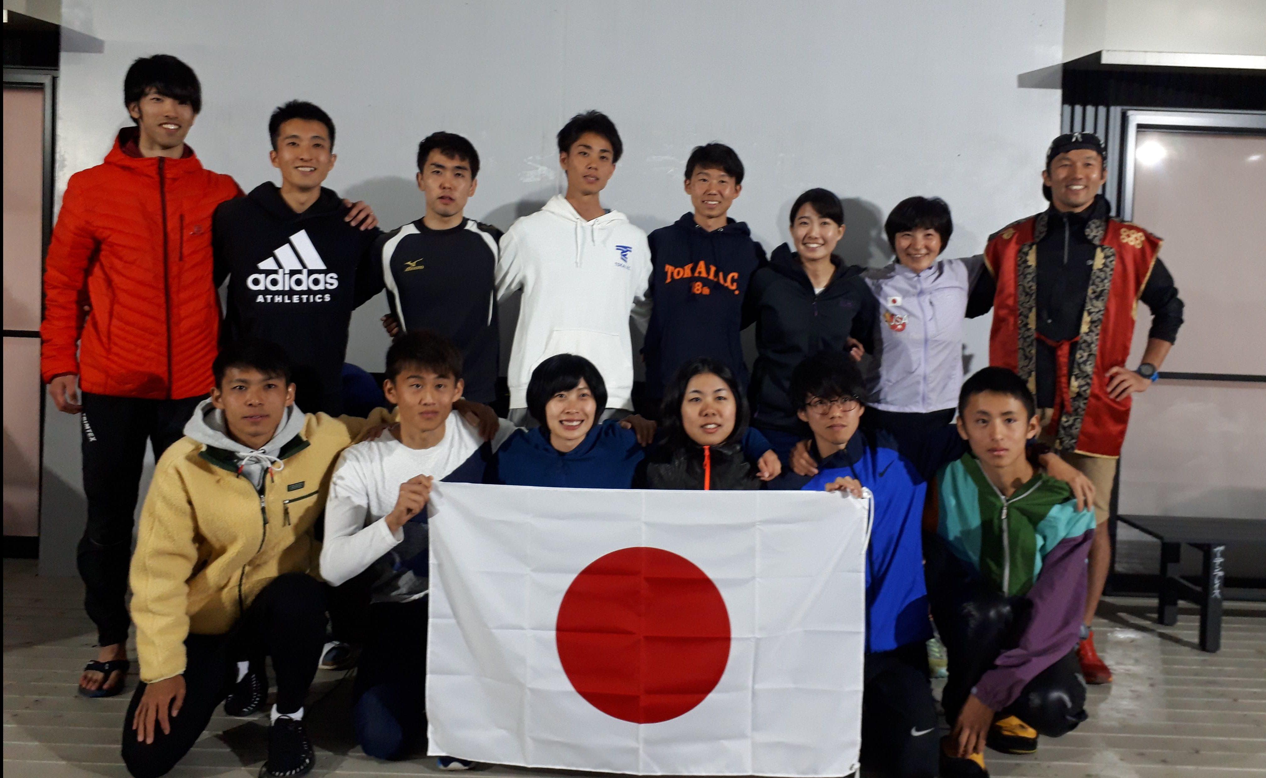 5月4日に長野県上田市で実施した壮行会にて