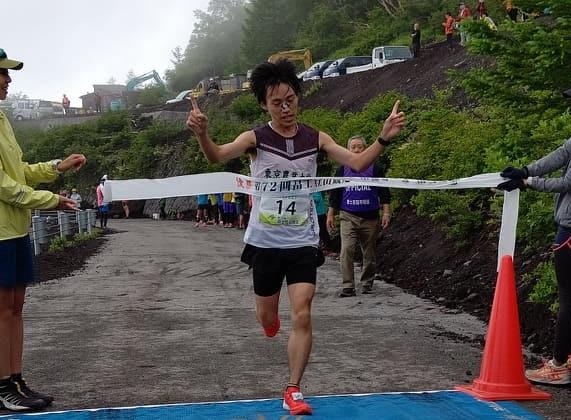 初優勝の山田、2位以下に背中を見せることなくゴール