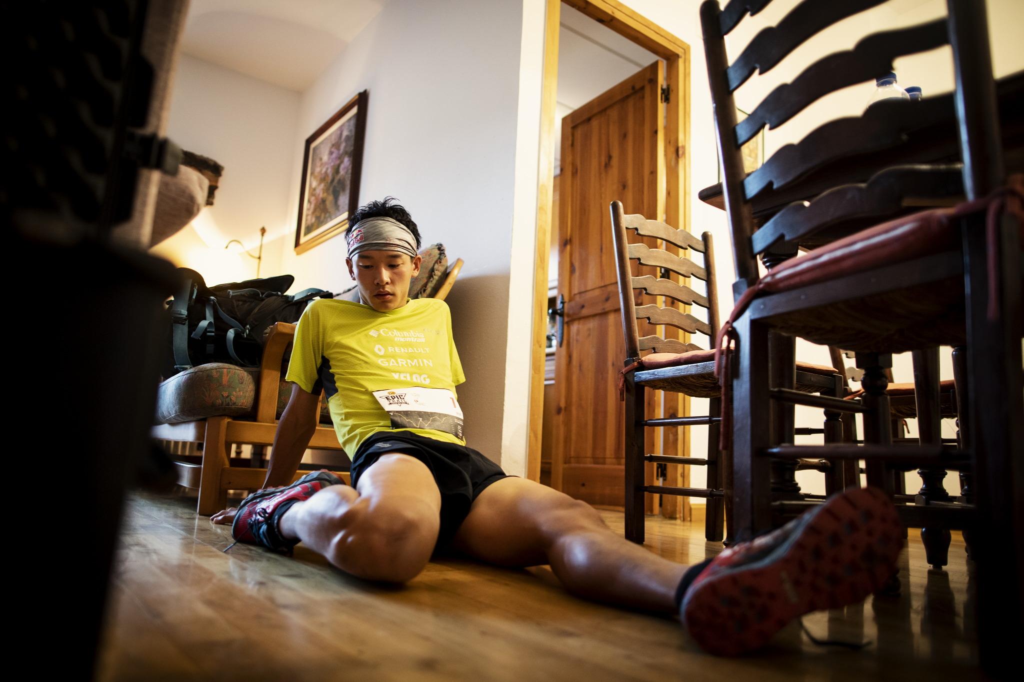 シリーズは長い長いひとつのレース。上田の挑戦は続く ©コロンビアスポーツウェアジャパン/Sho Fujimaki