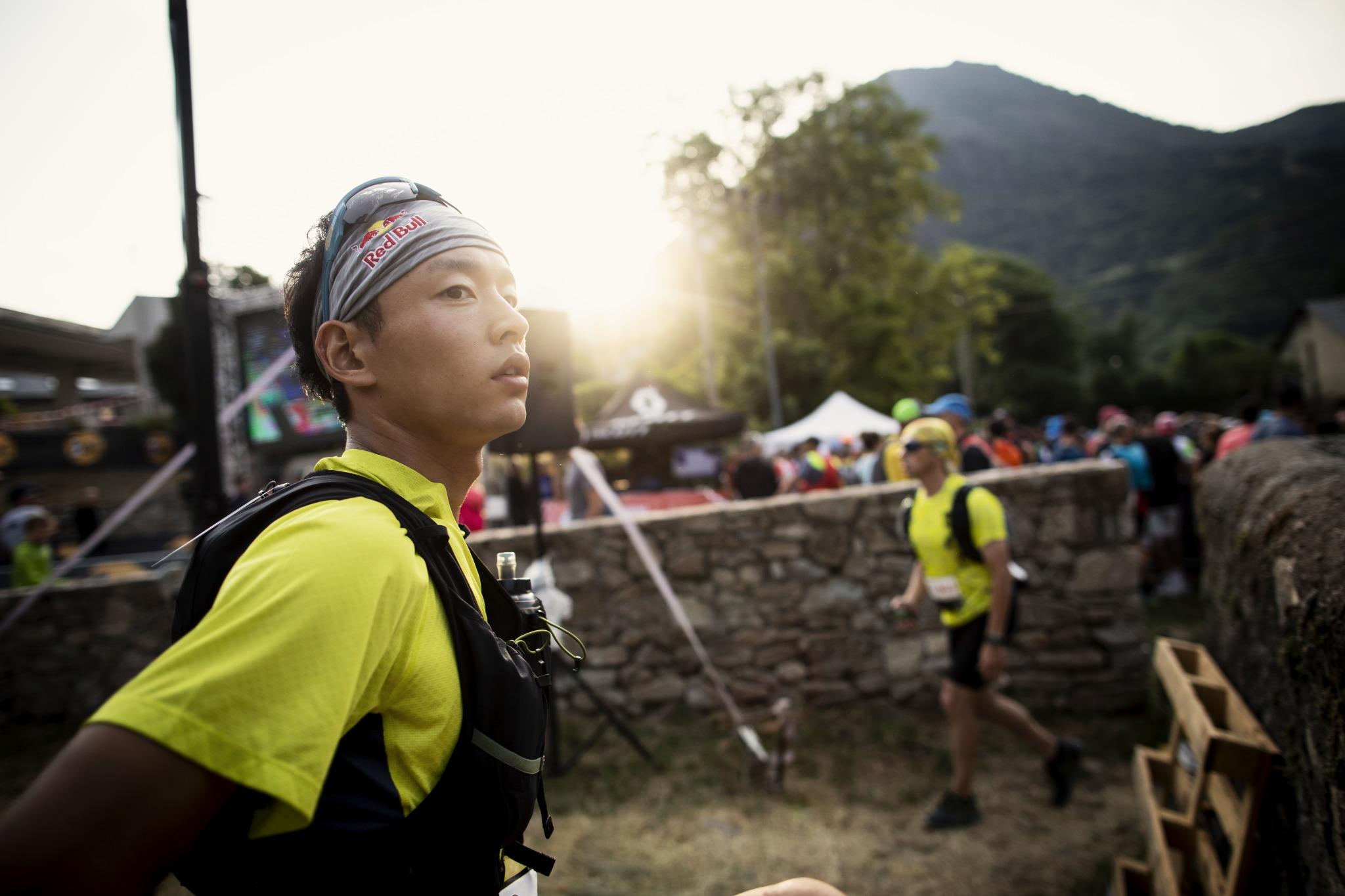 スタート前の表情 ©コロンビアスポーツウェアジャパン/Sho Fujimaki