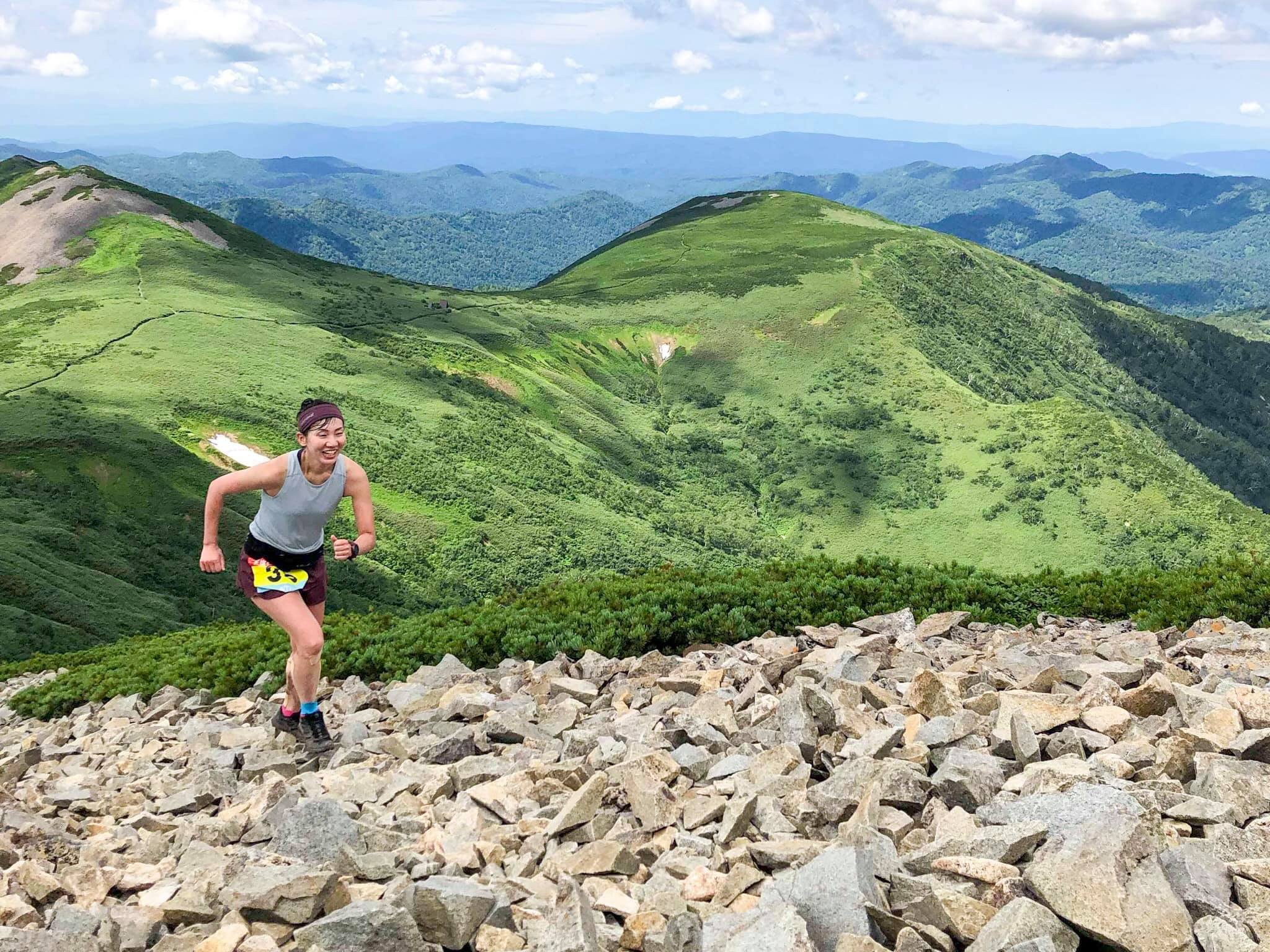 日本各地の美しく個性的な山岳を巡る契機としてもよいのが地域選手権だ ©天塩岳速登競争