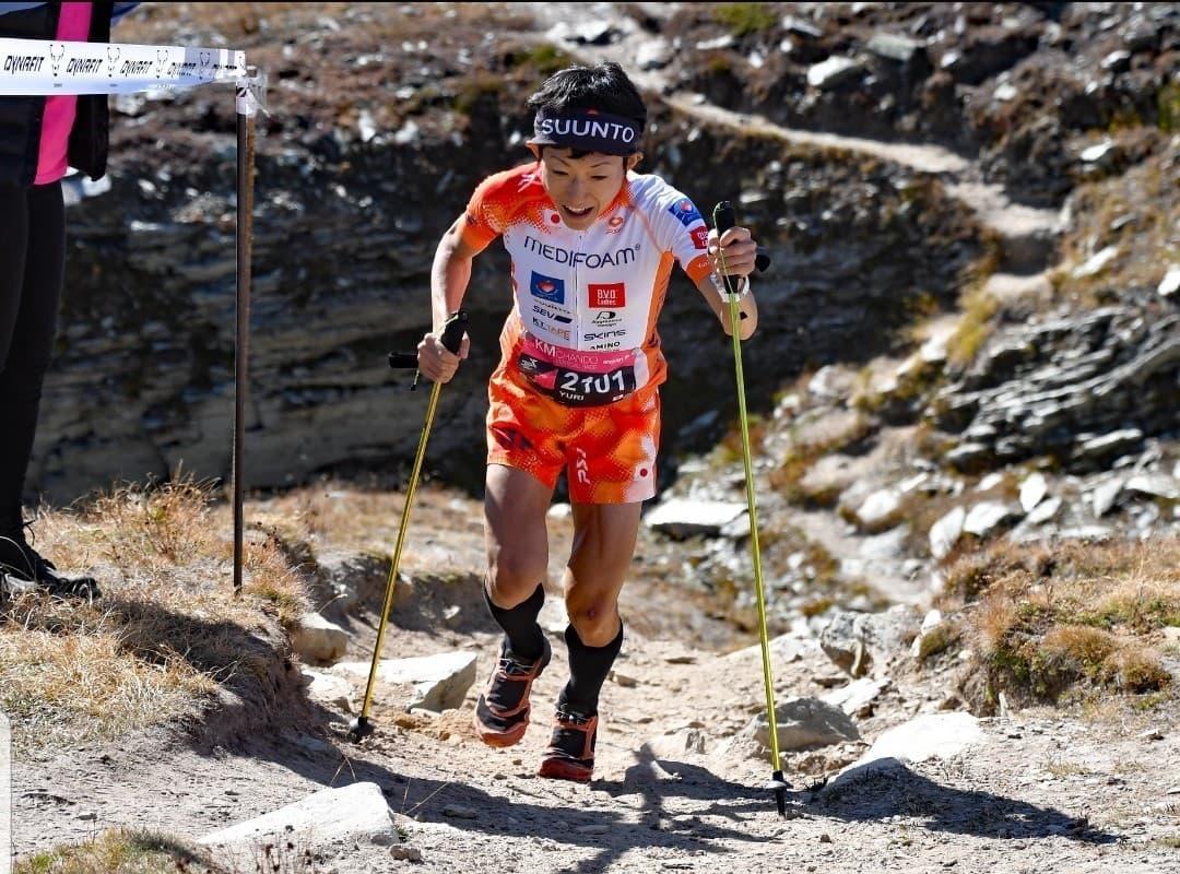 先週末にスイスで開催された標高差2000mを駆け登るLes KM de Chandoでは6位だった ©Les KM de Chando