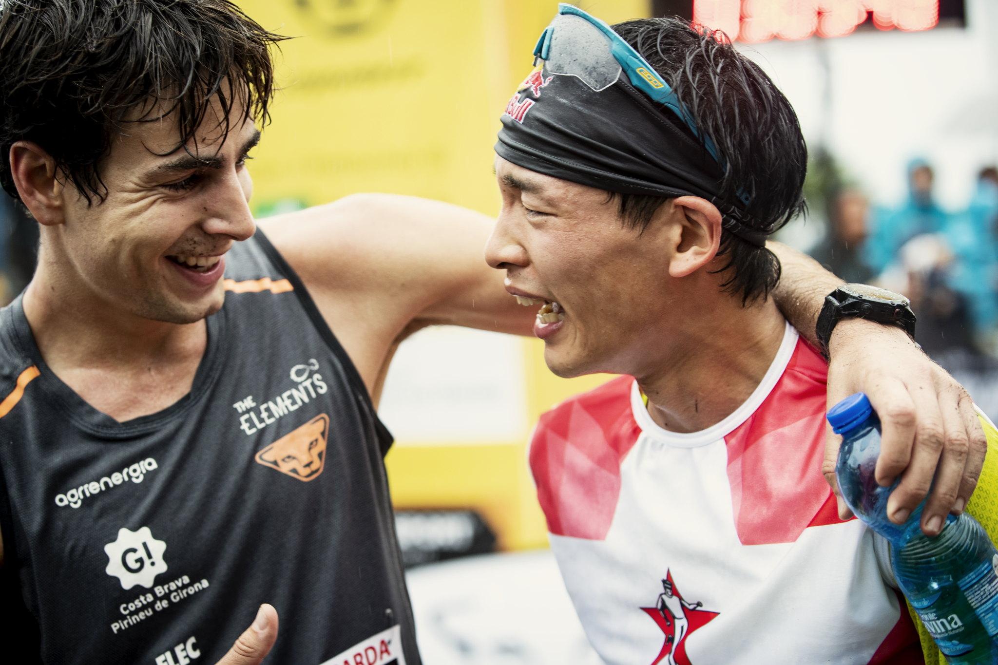 競い合ったライバルとの友情 ©Sho Fujimaki